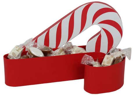 Sucre d'orge rouge et blanc : Boxes