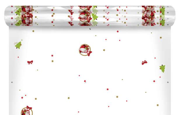 "Film polypro motifs ""Santa"" : Packaging accessories"