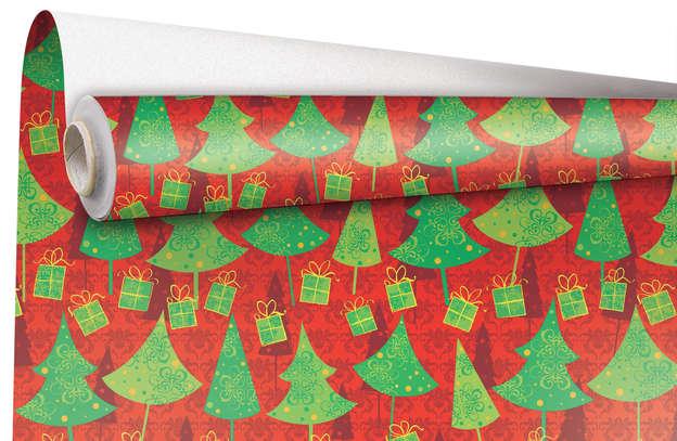 """Rouleau Papier cadeau """"Noël"""" : Packaging accessories"""