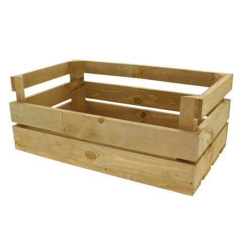 Cagette Bois Naturel  : Trays, baskets