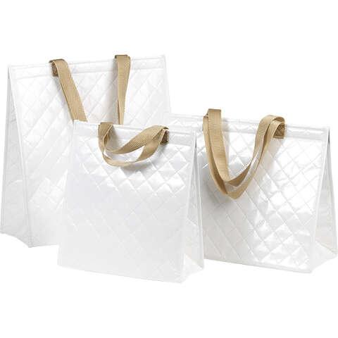 Sac isotherme rectangle blanc  : Bags