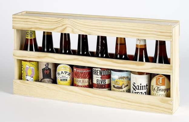 Coffret bois bières Longneck : Bottles packaging