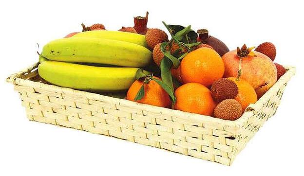 Corbeille Bambou Sarlat rectangle PM : Trays, baskets