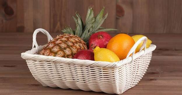 Fruitière Polypropylène Blanche : Trays, baskets