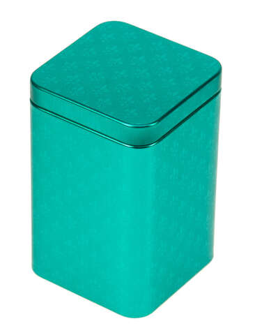 "Boite métal à thé ""PETROL"" : Boxes"