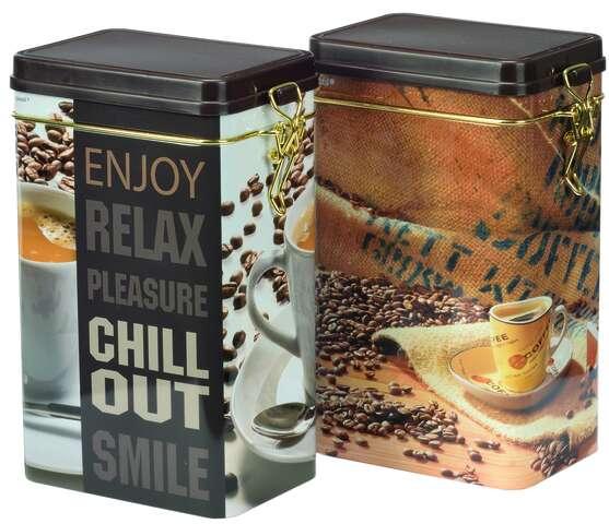 """Boite métal à café """"CHILL"""" : Boxes"""