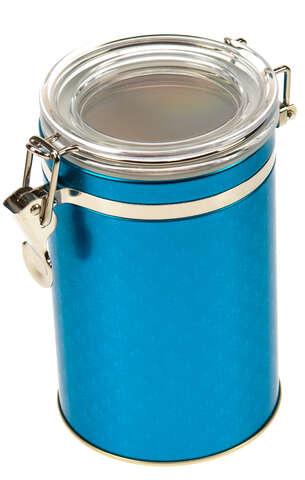 """Boite métal à café """"BLUE PETROL"""" : Boxes"""