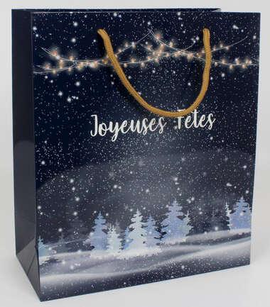 "Sac kraft ""Joyeuses Fêtes"" : Bags"