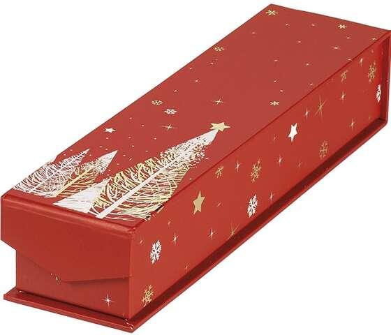 Coffret carton rectangle chocolats 1 rangée : Boxes