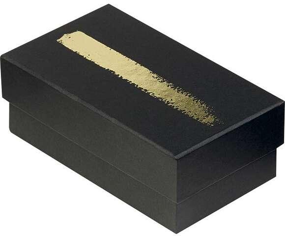 Mini ballotin noir/or 3 intercalaires : Boxes