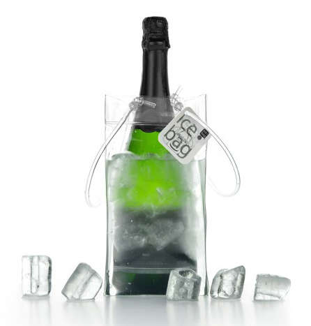 Ice bag Mini Clear for 0.50 et 0.75 cl bottles : Bottles packaging and local products