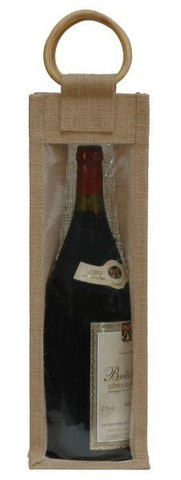 Jute bottle bag for Magnum : Bottles packaging