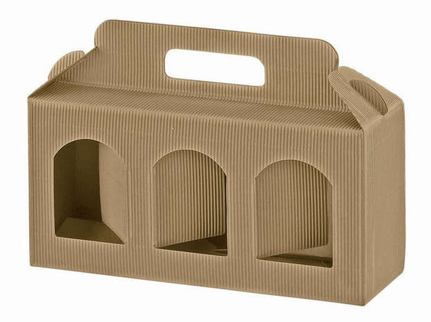Cardboard boxe Height 90 mm : Jars packing