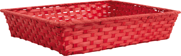 Wicker's basket  35x25x7 cm  : Trays, baskets