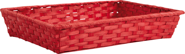 Wicker's basket  33x20x7cm : Trays, baskets