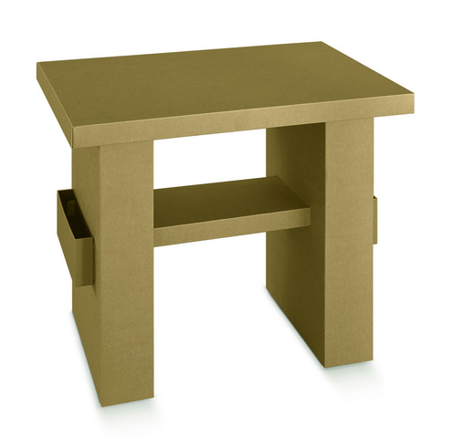 Cardboard's table  : Cardboard furniture