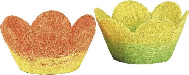 Corbeille papier cordé coloris assortis : Trays, baskets