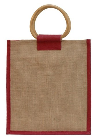 Jute bag for 3 bottles  : Bottles packaging and local products