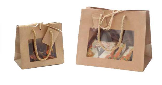 Mini Bag with window : Jars packing