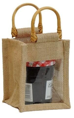 Jute bag for 1 jar 0.5 Kg : Jars packing