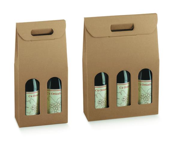 Cardboard Packaging 2, 3 bottles 0.75cl : Bottles packaging