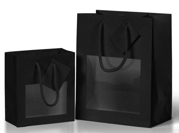Windows bags / MAT Black : Jars packing