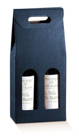 Blue Milan collection 2 bottles : Bottles packaging