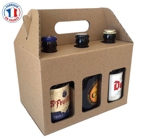 STEINIE 6 pack beer 33cl : Bottles packaging