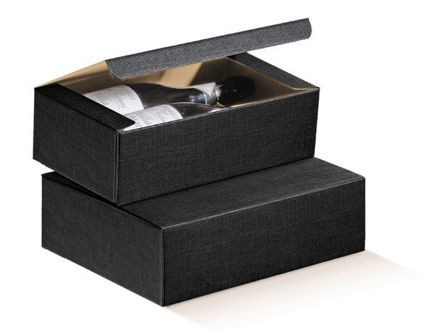 Black Milan for 3 bottles : Bottles packaging