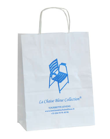 Kraft Paper bag with your logo : Personalized packing