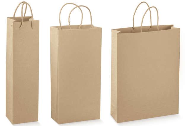 AVANA Kraft Bag Collection 1, 2, 3 bottles : Bottles packaging