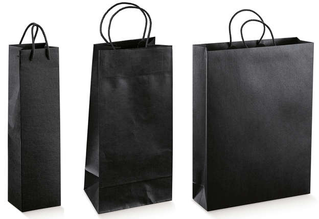 SETA NERO Kraft Bag Collection 1, 2, 3 bottles : Bottles packaging