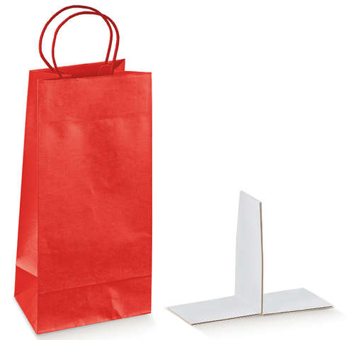 SETA ROSSO Kraft Bag Collection : Bottles packaging