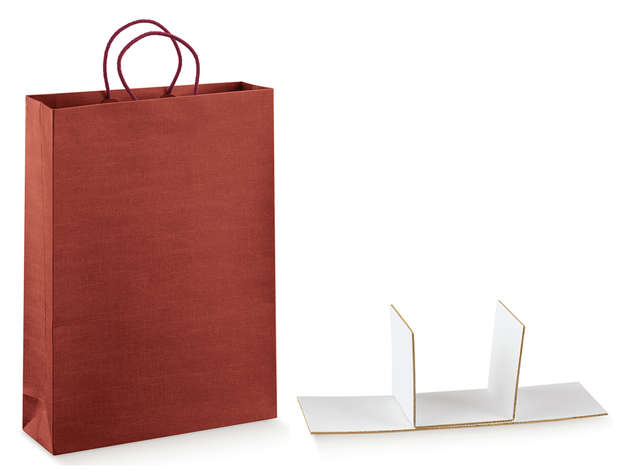 SETA BORDEAUX Kraft Bag Collection : Bottles packaging and local products