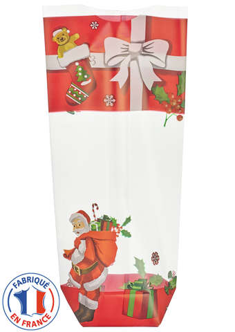 Pack of 100 Xmas Gift Bags : Celebrations