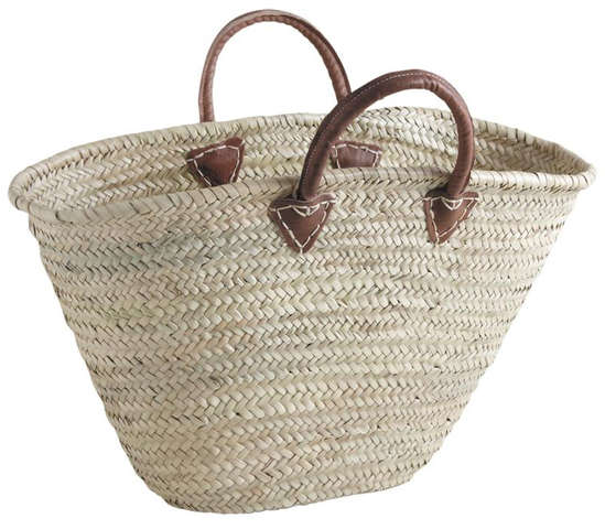 Sac Couffin en palmier : Bags