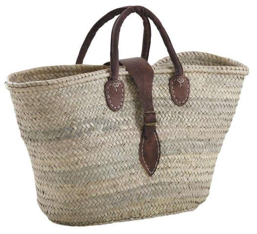 Cabas marché en palmier : Bags