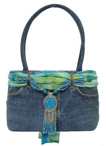 Sac à main en jean 3 couleurs : Bags