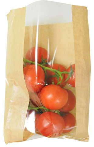 Lot de 1000 Sacs fruits 3 kg kraft + fenêtre : Bags