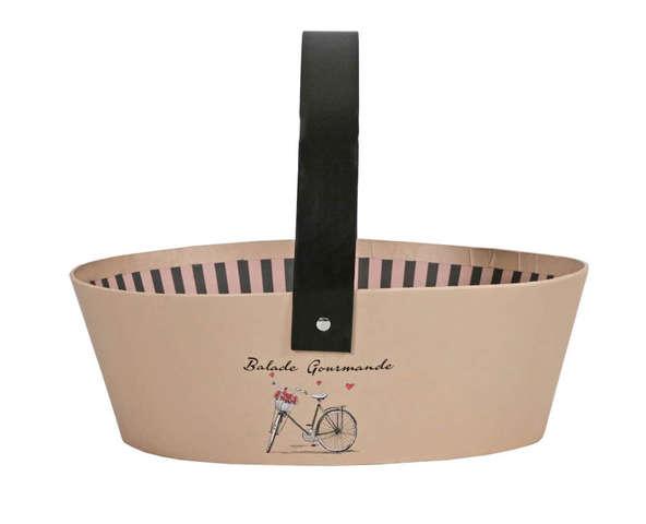 """Panier ovale """"BALADE GOURMANDE """" : Trays, baskets"""