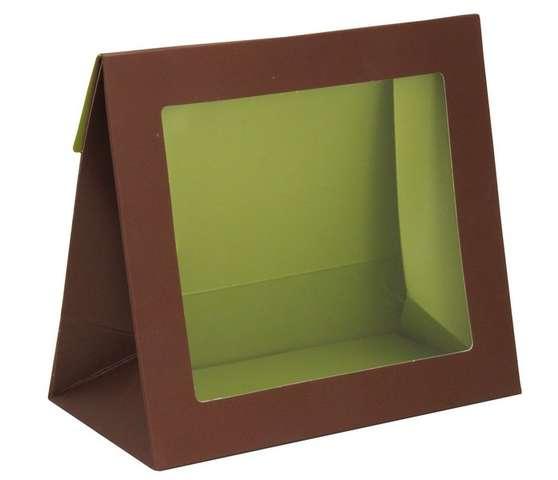 """Pochette en carton avec fenêtre """" Instants Gourmands """" : Jars packing"""