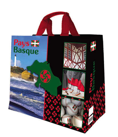 """Cabas polypro 33L """" Pays Basque - Béarn """" : Bags"""